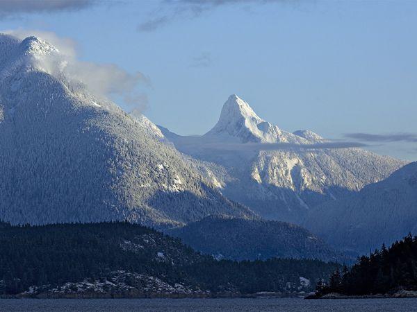 Mt Denman in winter