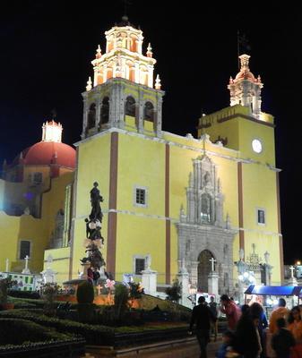 Basilica, Old Town Guanajuato, Mx