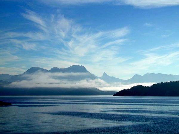 Mt Denman and Desolation Sound BC