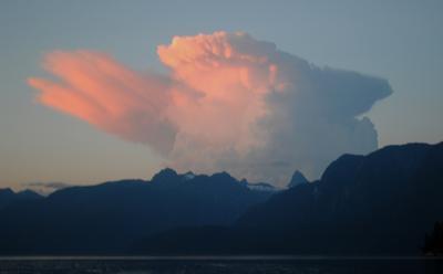 Mt. Denman August 2 2012