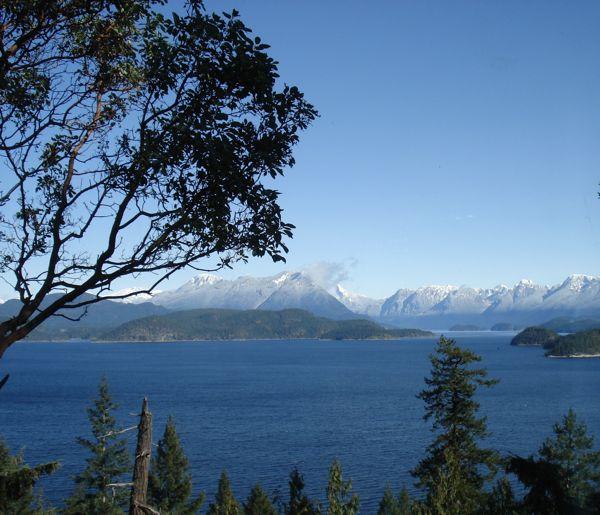 Desolation Sound from Cortes Island BC