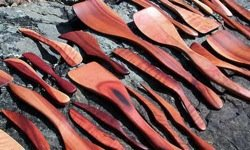 wooden cooking spoons
